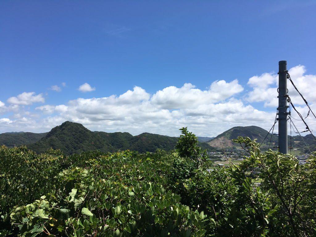 大黒山展望台から見る風景(北側)