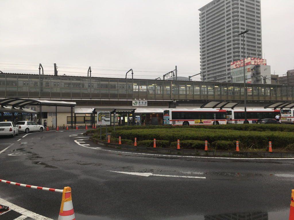 東北本線の長町駅