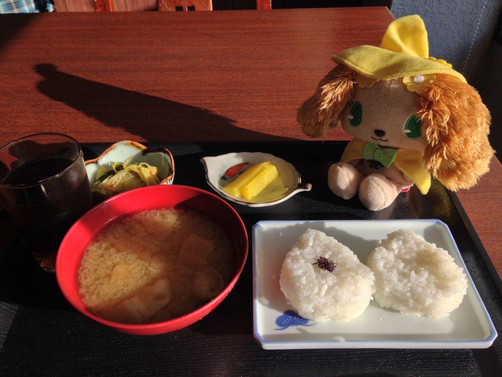 ホテルフジヨシでのいつもの朝食