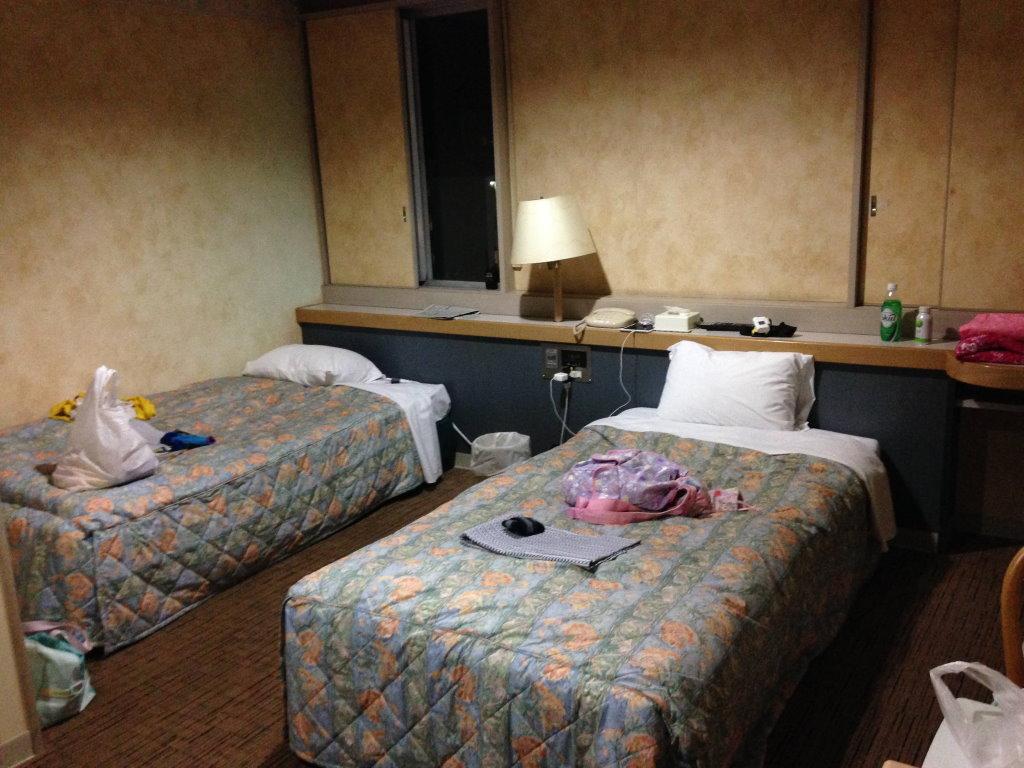 ホテルフジヨシの室内