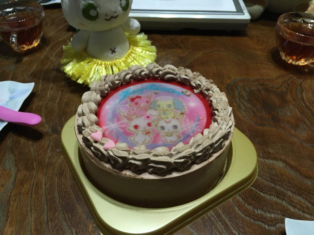 ジュエルペットのケーキとカッシーくん