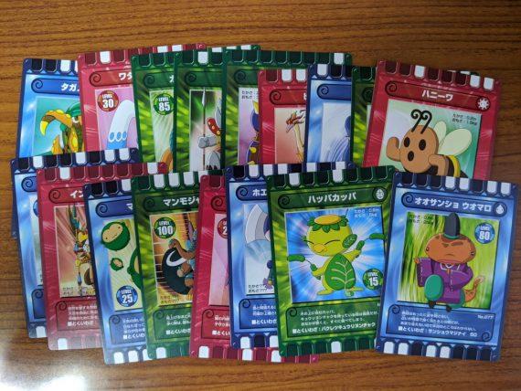 ぐるり森大冒険の周回で手に入れたカード (その1)