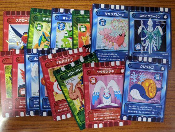 ぐるり森大冒険の周回で手に入れたカード (その2)