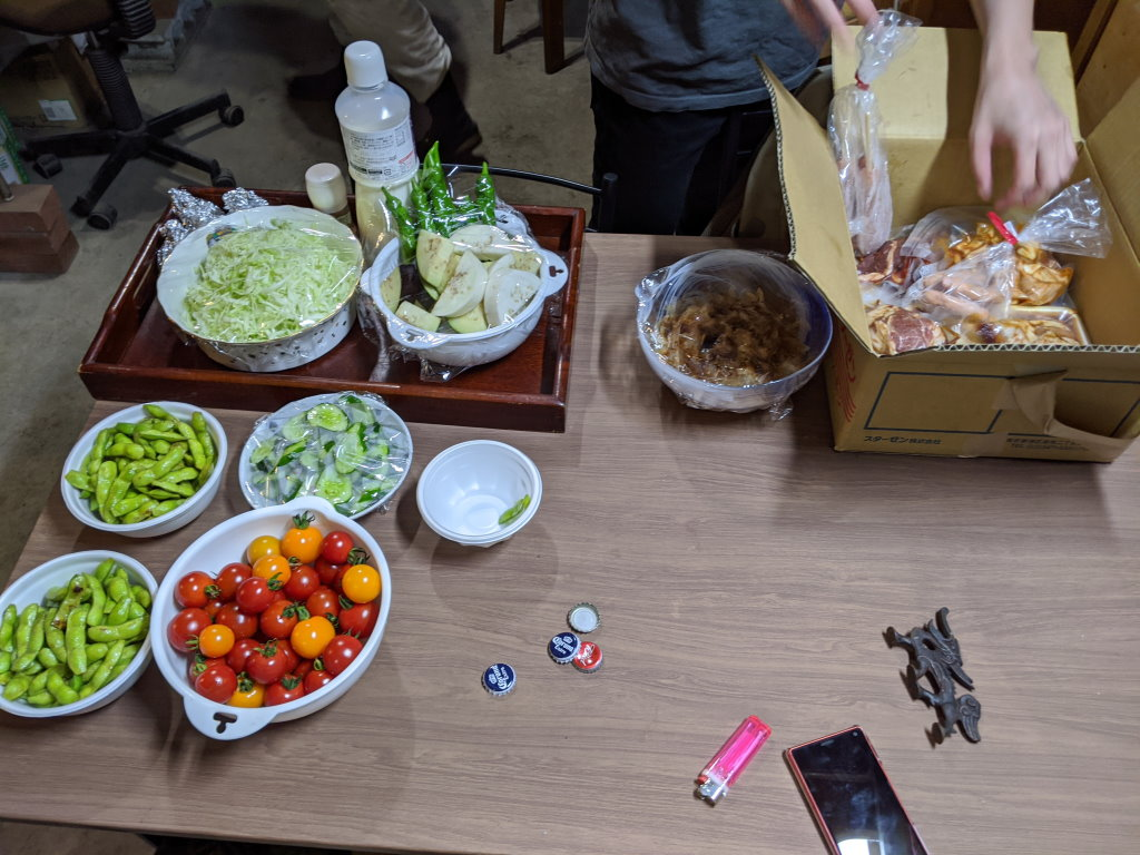 沢山の野菜とお肉