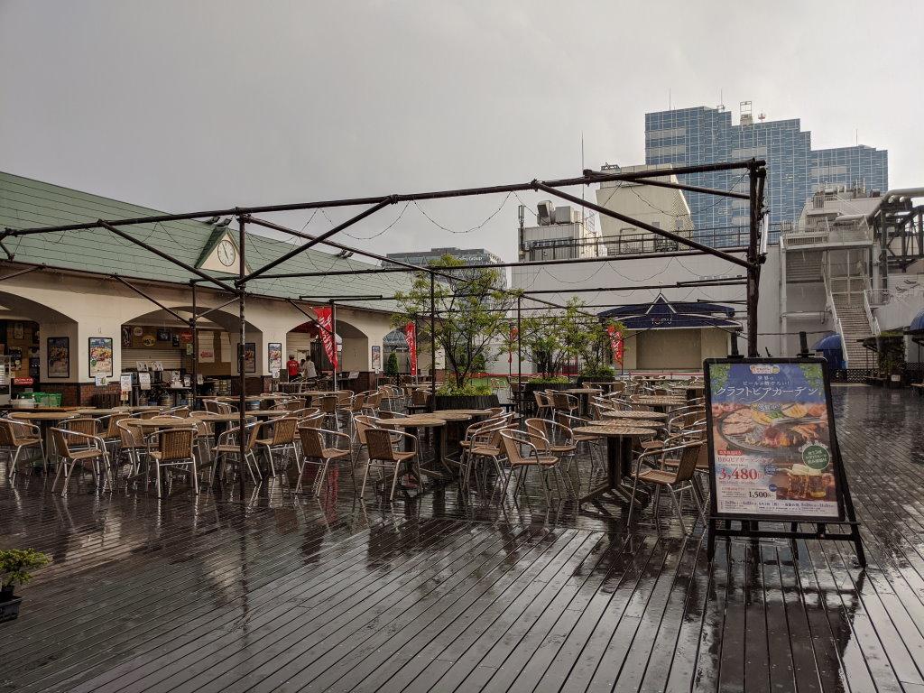 東武百貨店 池袋店の屋上にあるスカイビューフードコート