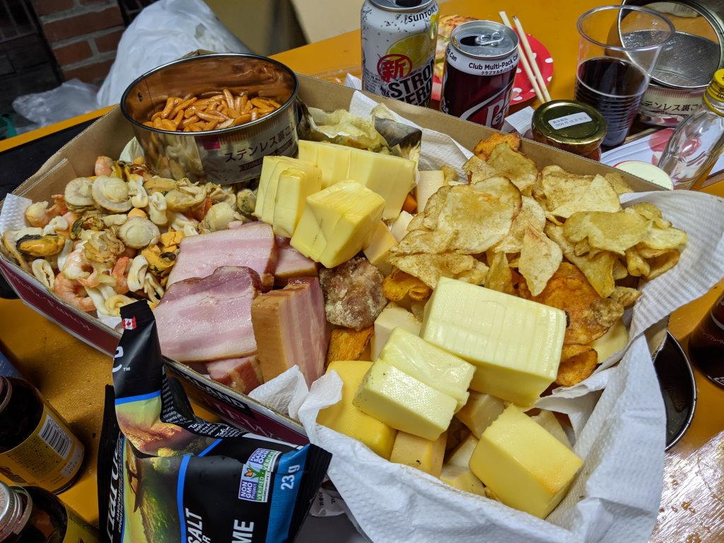 大量に残った燻製チーズ