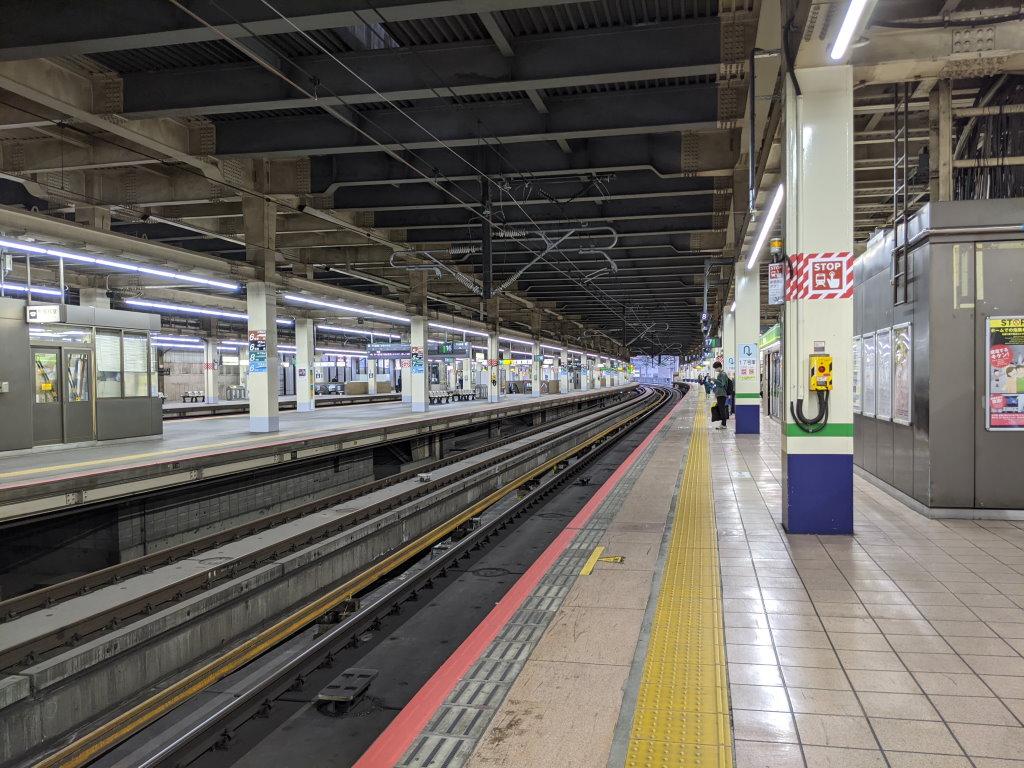 JR大宮駅の新幹線ホーム
