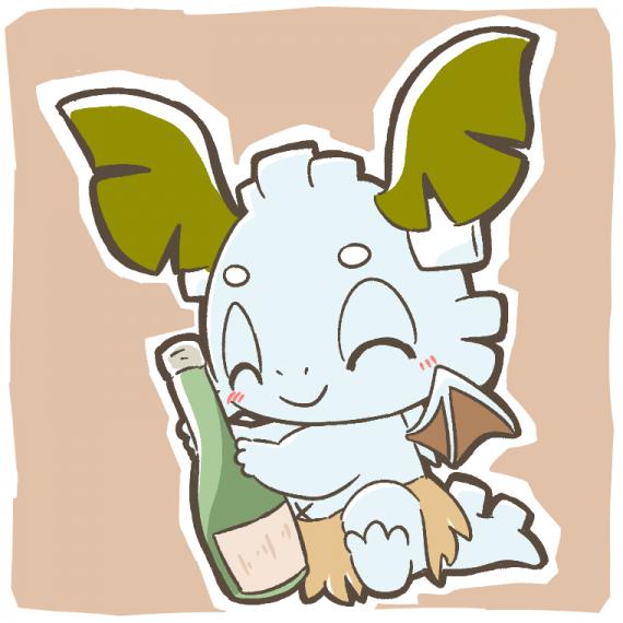 お酒とデココ