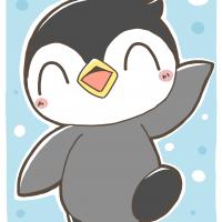 手を振って挨拶をするワトリペンギン代理さん