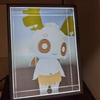 デココくんが映っているLooking Glass Portrait